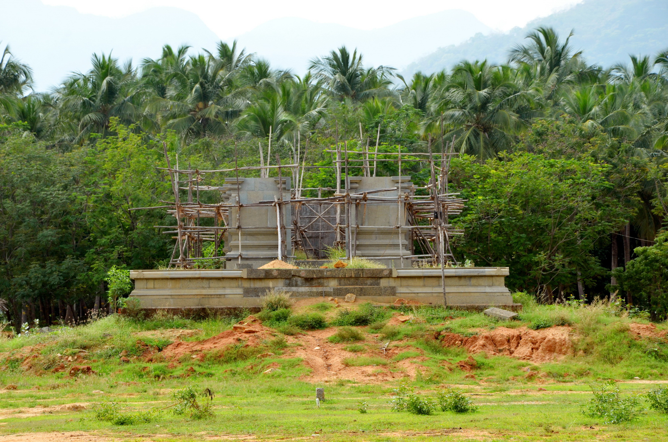 Temple Construction Status